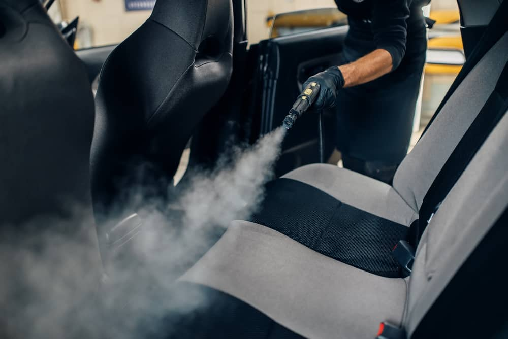 steaming car for bed bugs